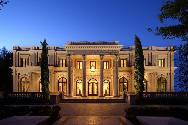 Palais des anges 49 500 000 pricey pads for Mansions for sale in los angeles california