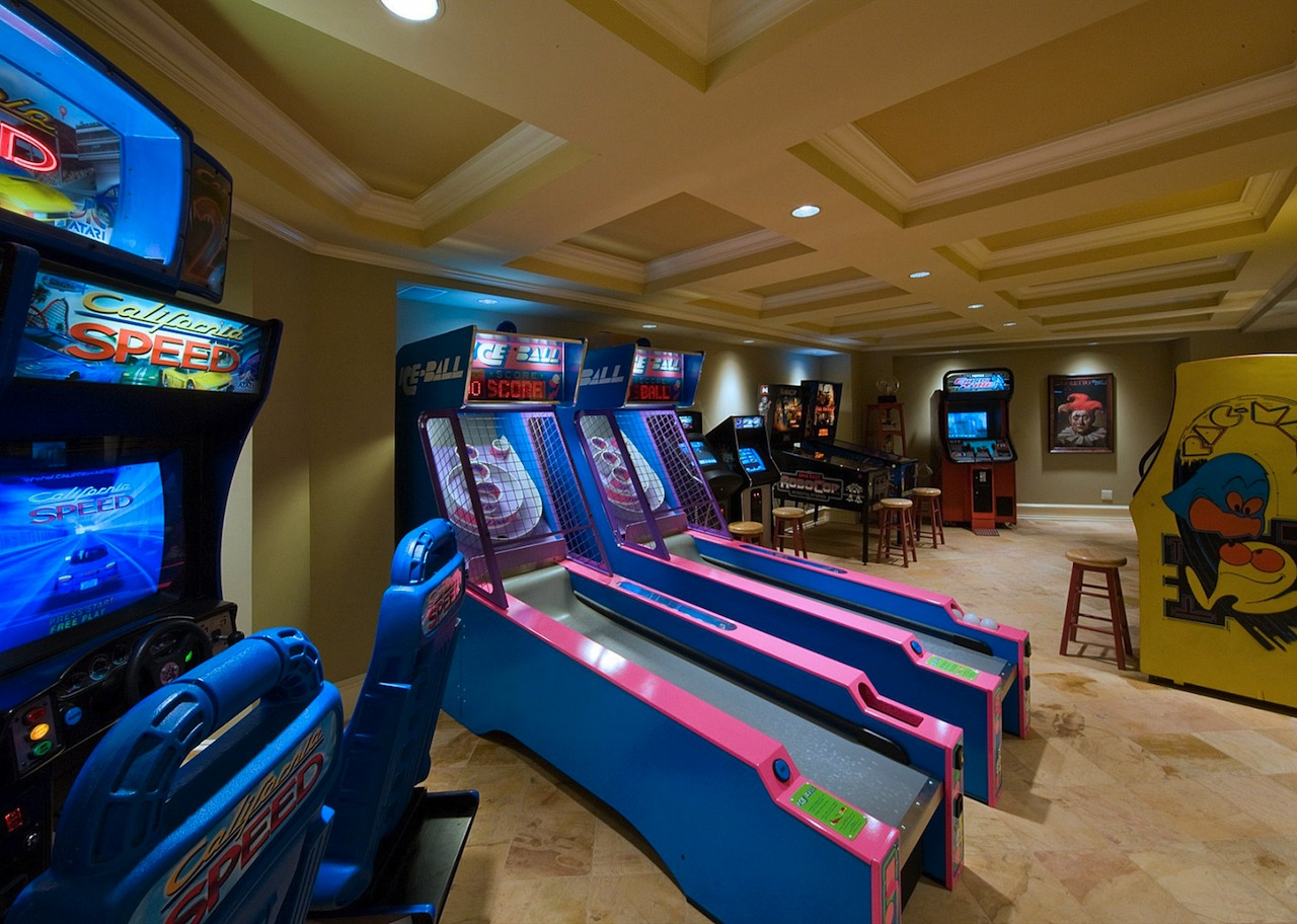 Dream house game room - Arcade Room My Dream House Pinterest Arcade Game Room Arcade Room And Game Rooms