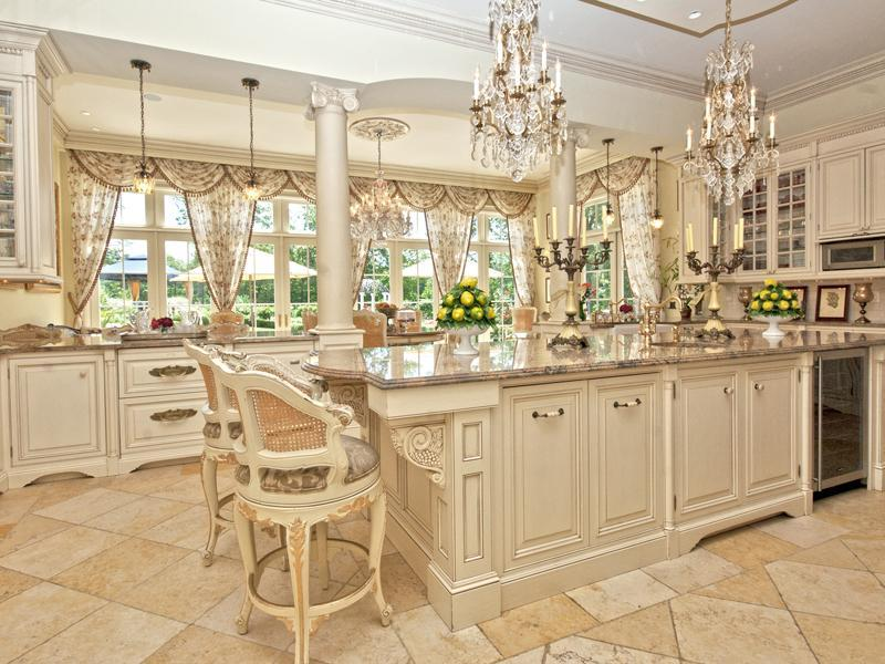 Magnificent french chateau 14 500 000 pricey pads for Magnificent kitchens