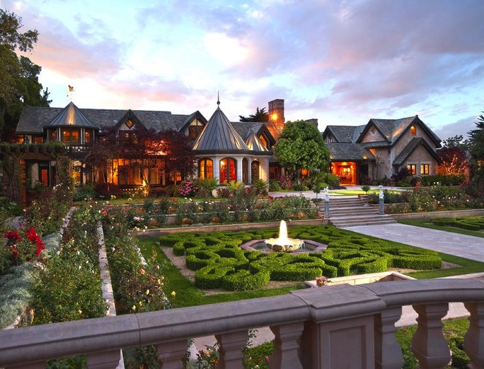 14 Acre Hope Ranch Estate 24 500 000 Pricey Pads