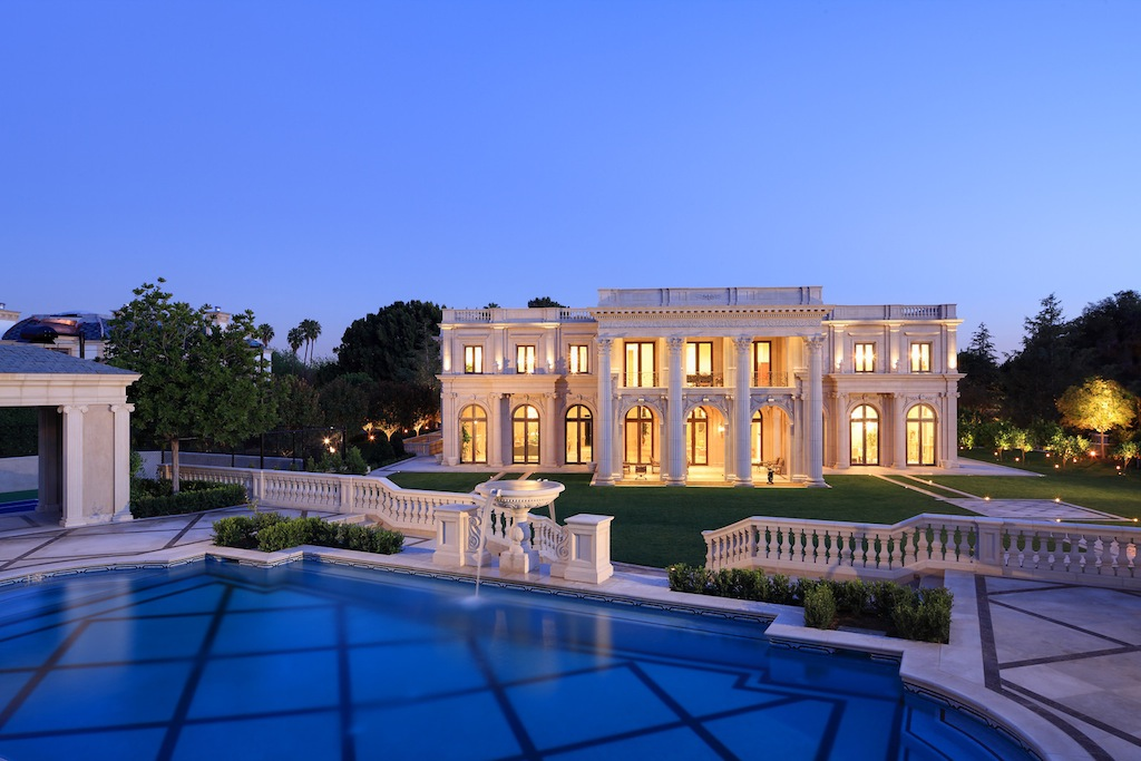 Palais des anges sold pricey pads for Expensive homes for sale in california