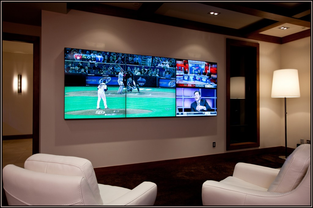 Decked Out Media Room Pricey Pads