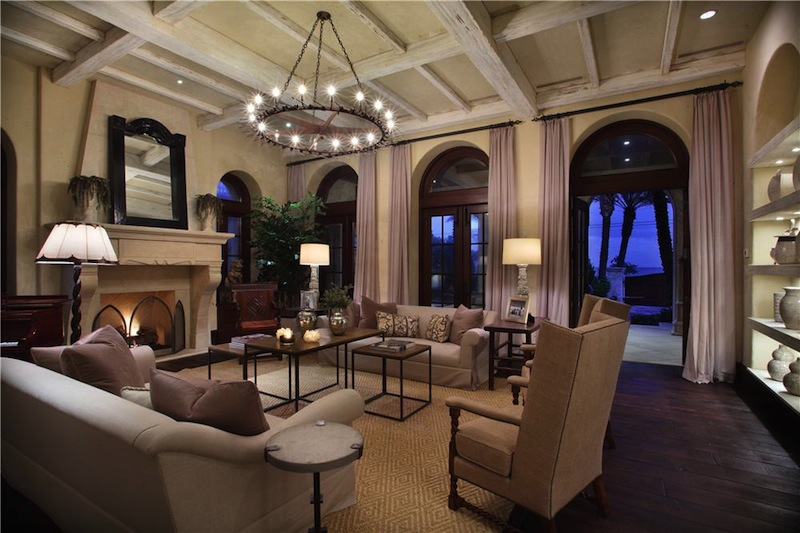 extraordinary luxury mansion living room | Extraordinary Oceanview Compound - $19,950,000 - Pricey Pads