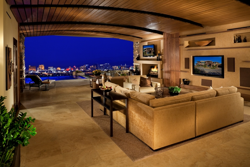 Golf Living Room View