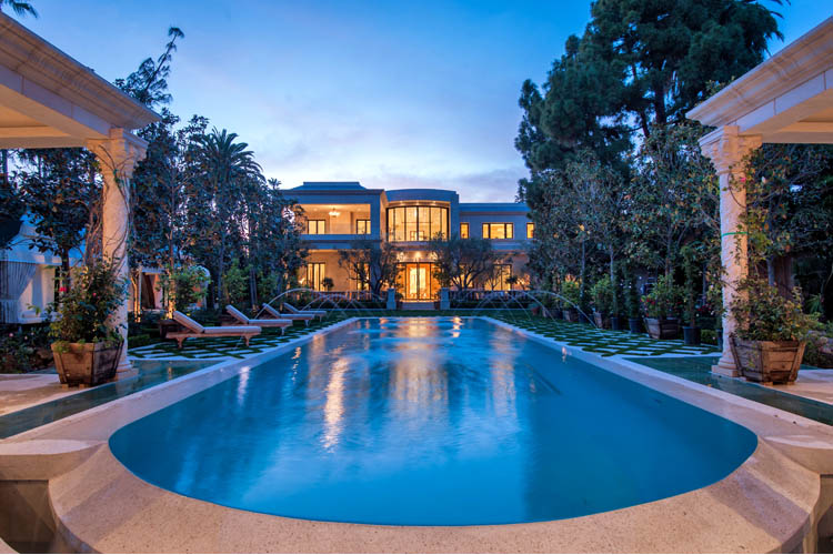 Le palais 58 000 000 pricey pads for Luxury homes in beverly hills ca