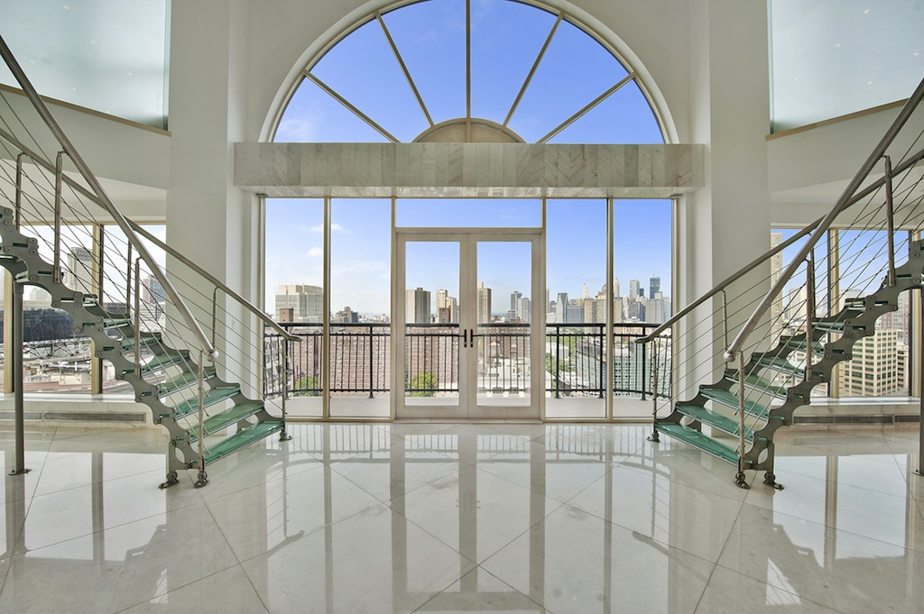 Brooklyn Glass Duplex Penthouse 5 900 000 Pricey Pads