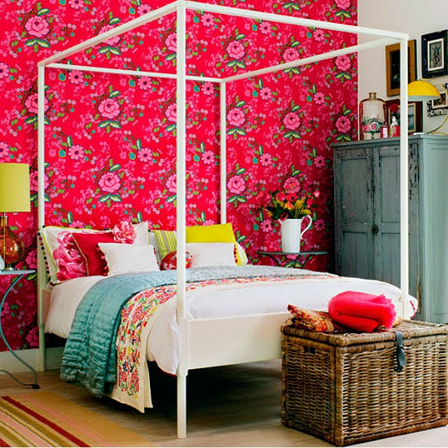 Eclectic & Colourful Bedrooms - Pricey Pads