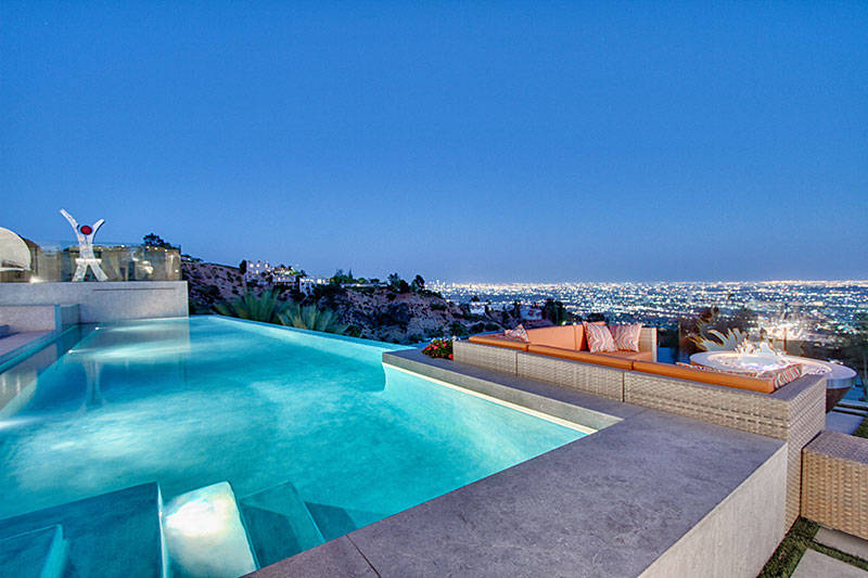 9305 nightingale drive 15 000 000 pricey pads - Indoor swimming pools in los angeles ca ...