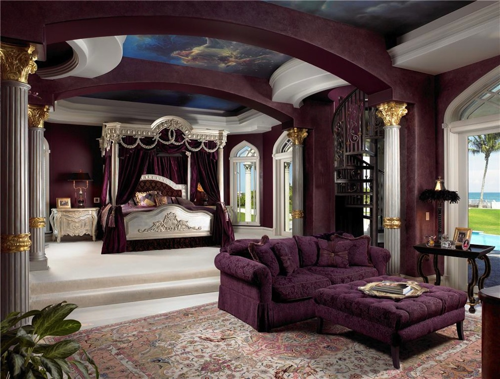 Palazzo di mare 22 500 000 pricey pads for Fancy master bedrooms