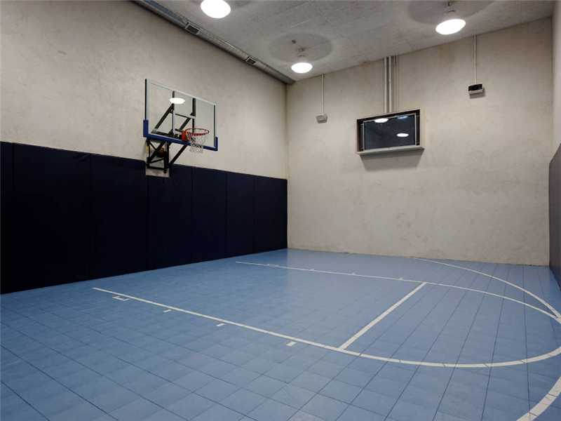 Lakeside grandeur 26 080 000 pricey pads Indoor half court basketball cost