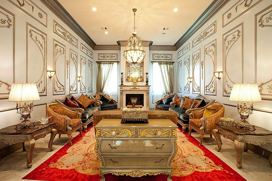 Open kitchen design with living room - Incomparable Moroccan Masterpiece 5 900 000 Pricey Pads