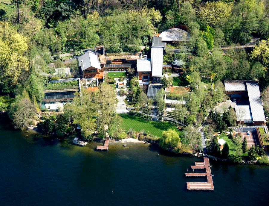 aerial-view-of-bill-gates-house