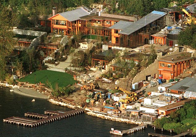 Pics Photos Inside Bill Gates House Pictures Interior And Exclusive
