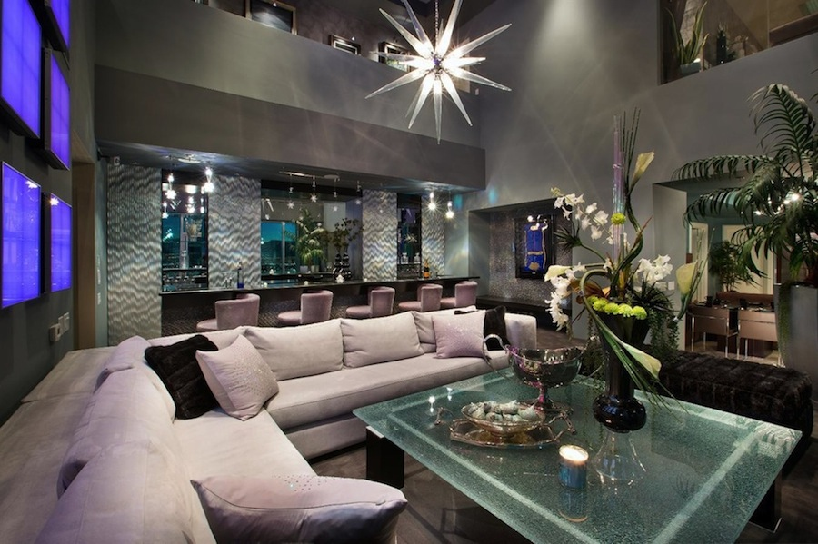 Las Vegas SkySuite Penthouse 48480048 Pricey Pads Simple 3 Bedroom Penthouses In Las Vegas Style