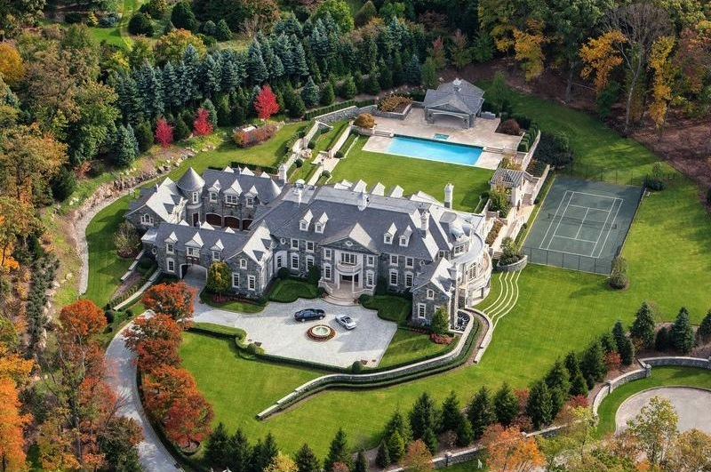 CNBC Goes Inside The 49 Million Stone Mansion Pricey Pads