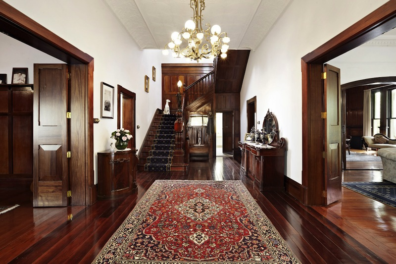 Old Mansion Foyer : Manningham circa price upon request pricey pads