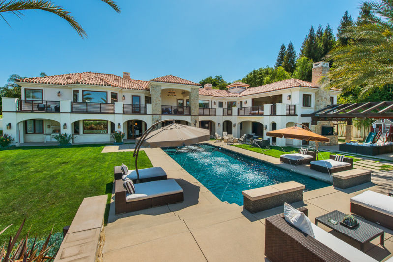 Celebrity Owned Estate 5 495 000 Pricey Pads