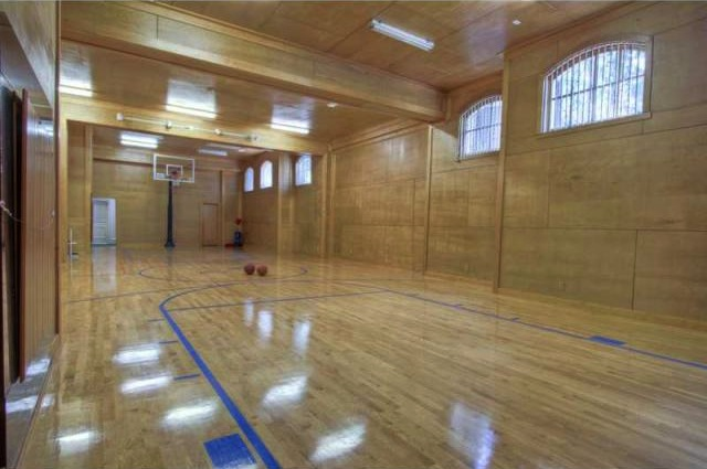 Custom buckhead estate 4 996 000 pricey pads Indoor half court basketball cost