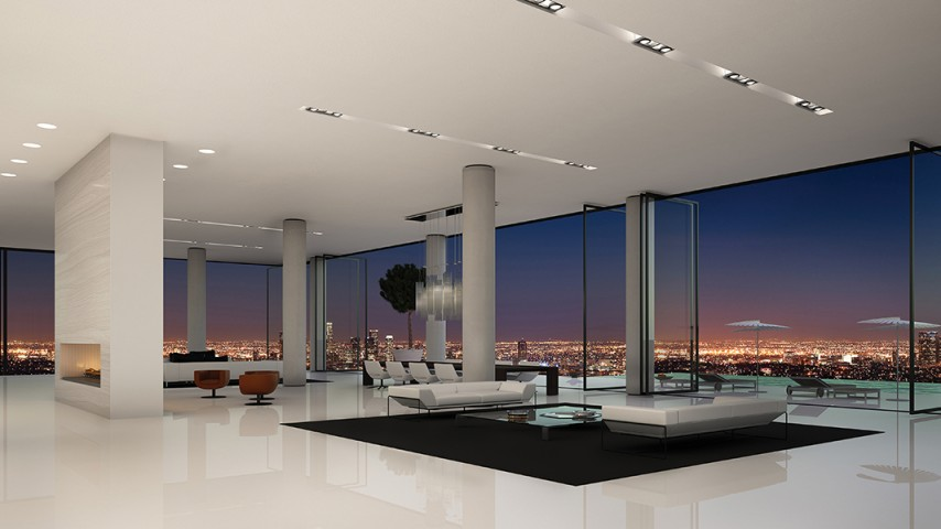 Estate in the sky 45 000 000 pricey pads for Penthouses for sale los angeles