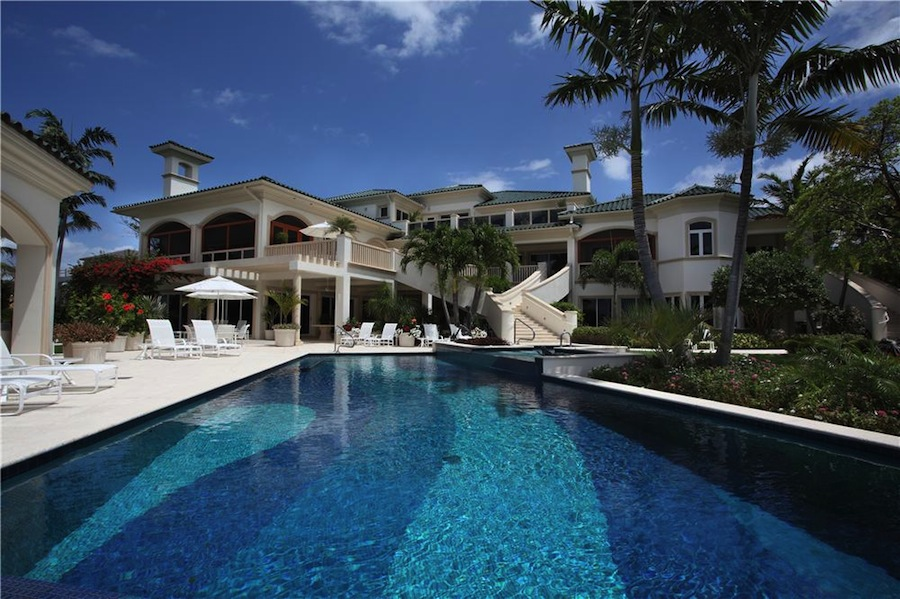 Ocean To Intracoastal Estate 24 900 000 Pricey Pads