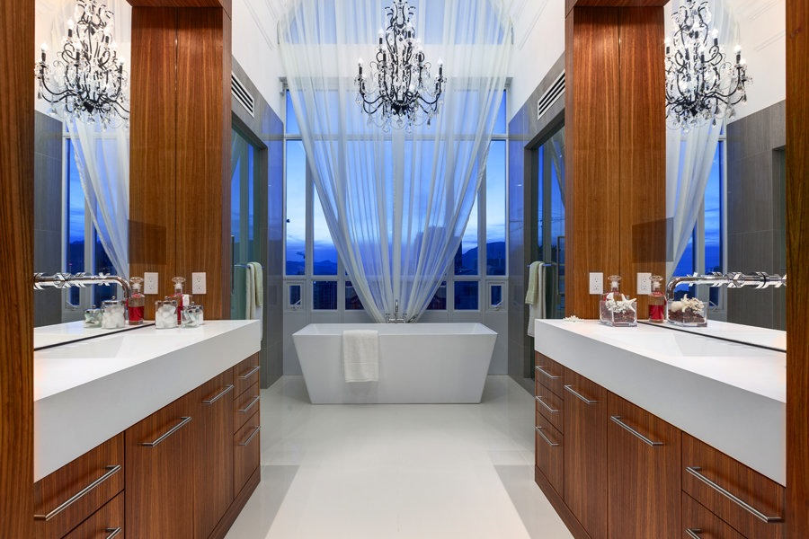 Elysium penthouse 7 899 000 cad pricey pads for Beautiful modern bathroom designs