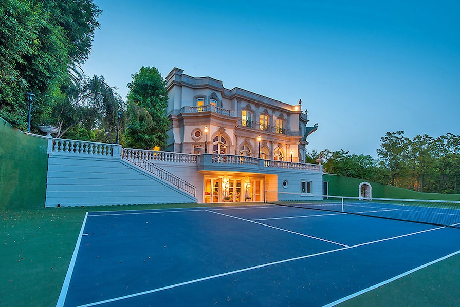French Baroque Beverly Hills Chateau Off The Market