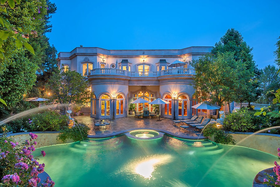 French Baroque Beverly Hills Chateau Off The Market Pricey Pads