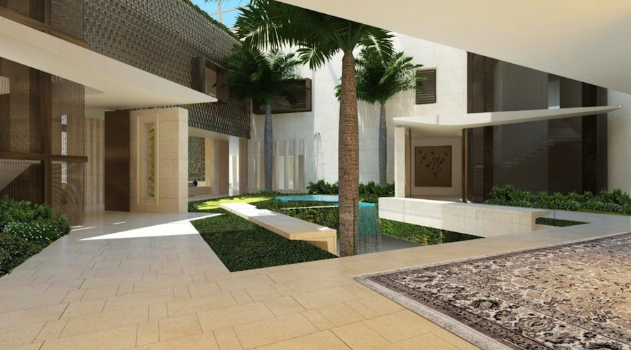 Saota unveils plans for 91 000 sq ft dubai mansion pricey pads Home of architecture planning uae