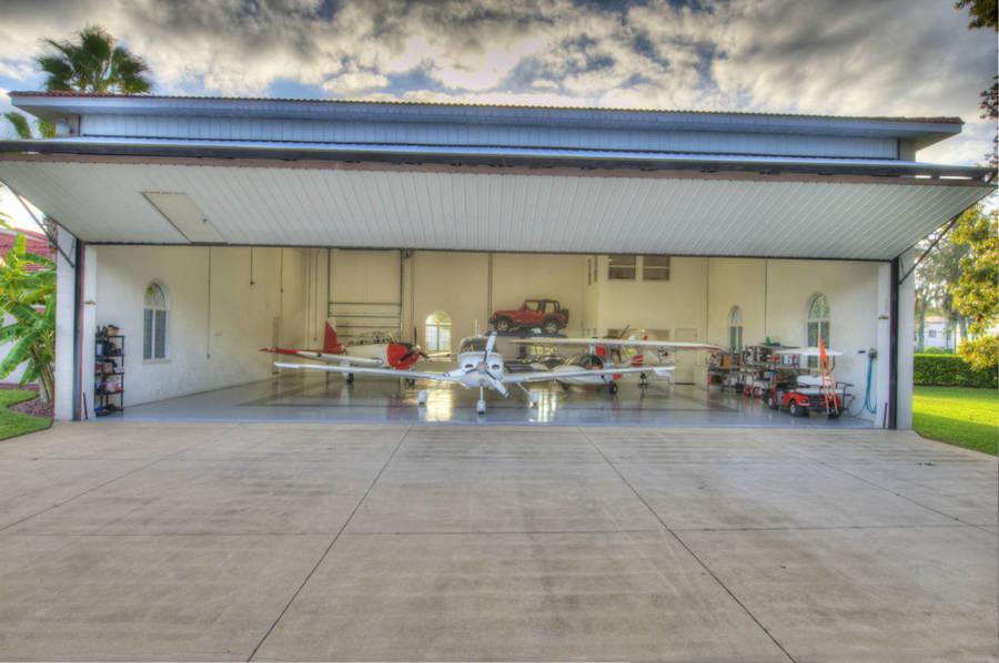 Airplane hangar doors florida floors doors interior for Columbia flooring in danville virginia