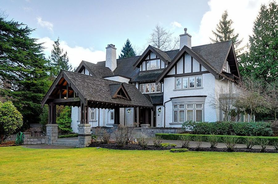 First Shaughnessy Tudor Mansion 17 888 000 Pricey Pads