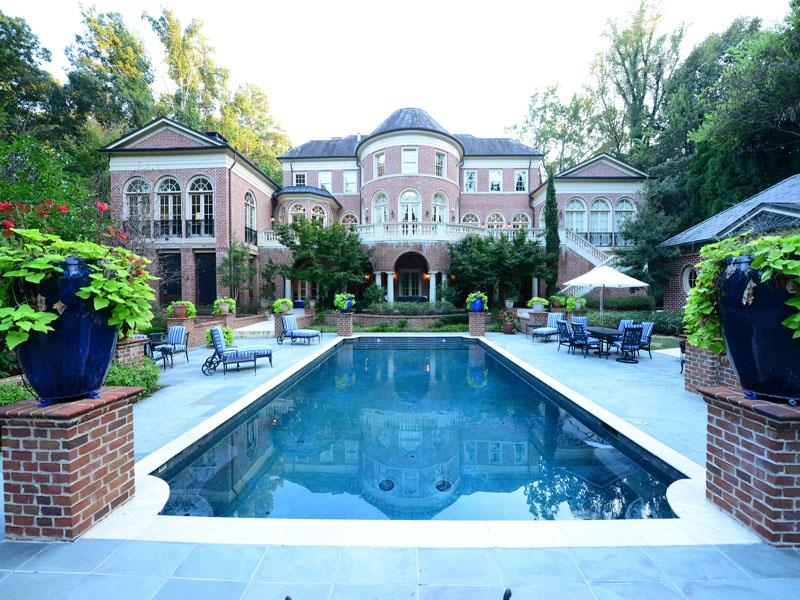 Brick stone manor 5 750 000 south sound luxury homes for House builders in ga