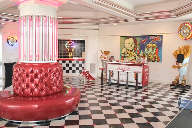 50s games room