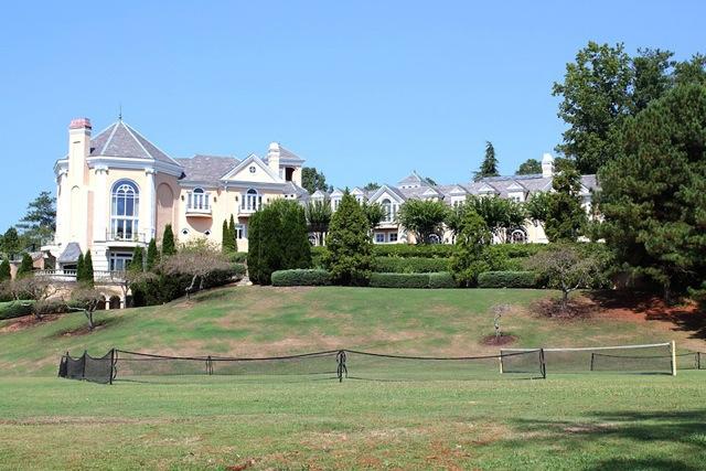 Side of mansion