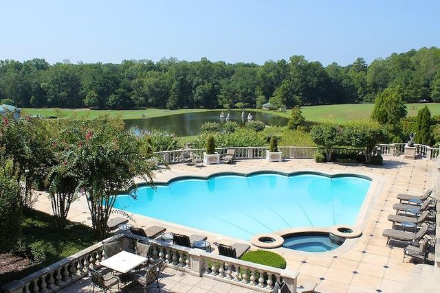 views over pool