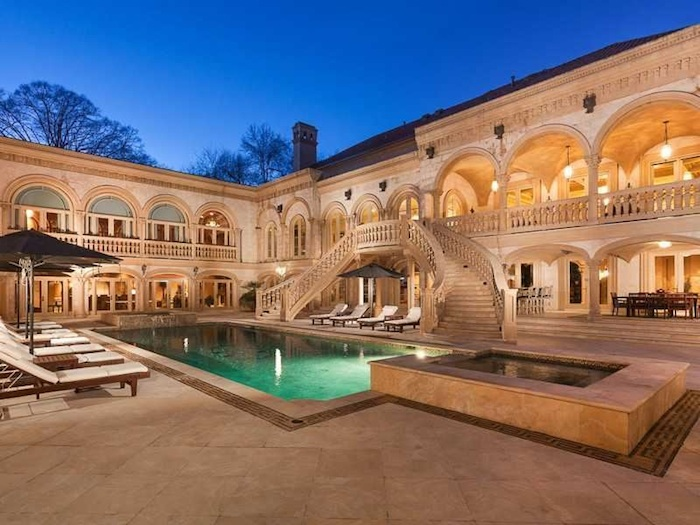 Buckhead S Most Palatial Estate 15 900 000 Pricey Pads