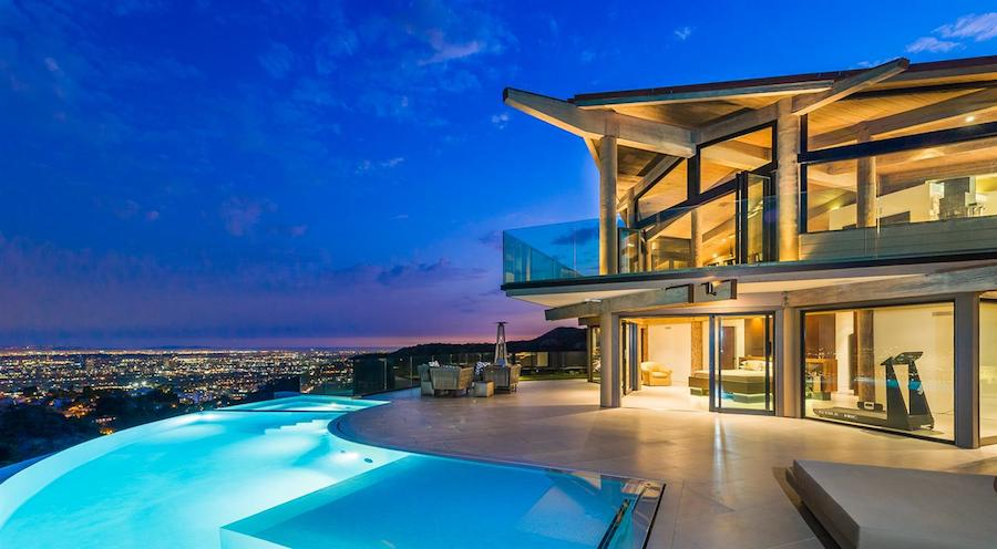 Architectural tour de force 8 888 000 pricey pads - Indoor swimming pools in los angeles ca ...